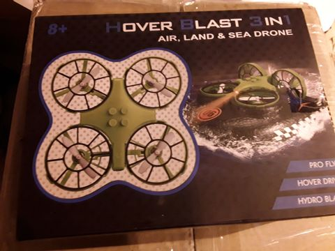 Lot 3527 HOVER BLAST 3IN1 AIR, LAND AND SEA DRONE