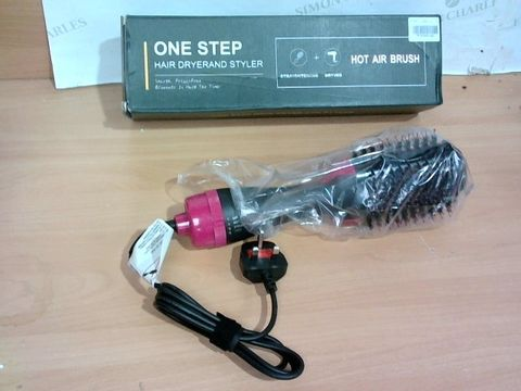 Lot 2341 ONE STEP HAIR DRYER AND STYLER