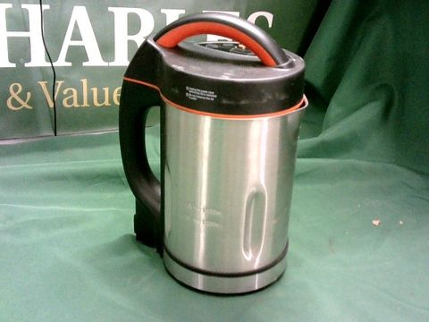 Lot 4037 MORPHY RICHARDS 48822 SOUP MAKER, STAINLESS STEEL 1000W, 1.6L