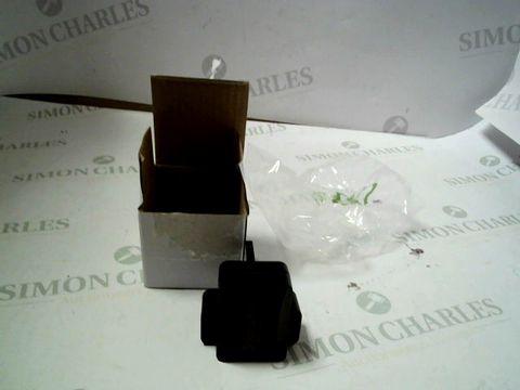 Lot 8474 BOX OF APPROXIMATELY 200 UK 3 PIN USB ADAPTER