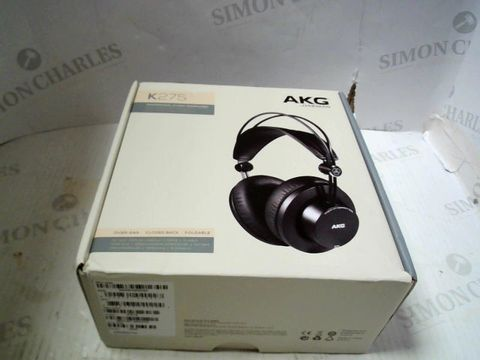 Lot 233 AKG HARMAN K275 PROFESSIONAL STUDIO HEADPHONES