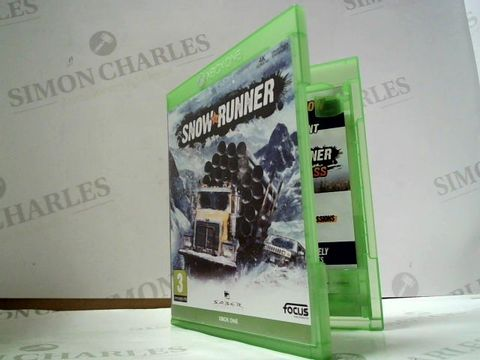 Lot 8035 SNOWRUNNER XBOX ONE GAME