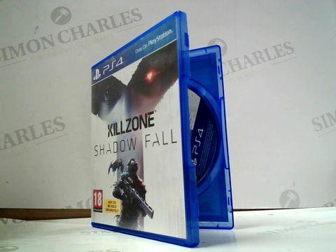Lot 8016 KILLZONE SHADOW FALL PLAYSTATION 4 GAME