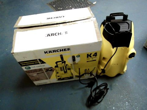Lot 15476 KARCHER K4 FULL CONTROL PRESSURE WASHER