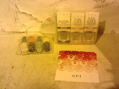 Lot 1364 OPI MEXICO ENVY 7 PIECE NAIL COLLECTION