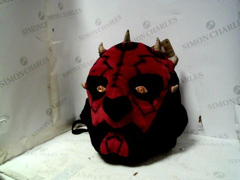 Lot 102 STAR WARS DARTH MAUL BACKPACK