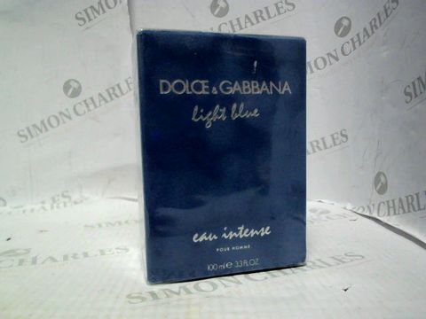 Lot 5097 BRAND NEW AND SEALED DOLCE & GABBANA LIGHT BLUE EAU INTENSE POUT HOMME 100ML