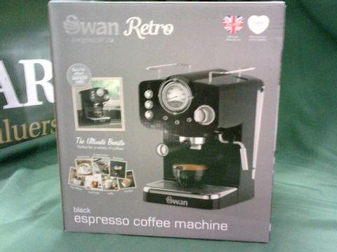 Lot 4064 SWAN PUMP ESPRESSO COFFEE MACHINE