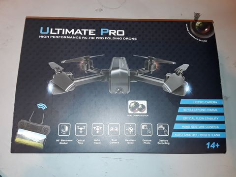 Lot 1083 ULTIMATE PRO HIGH PERFORMANCE FOLDING DRONE
