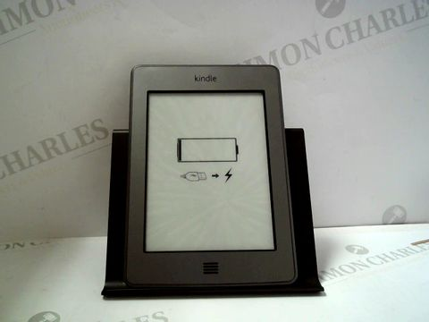 "Lot 1180 AMAZON KINDLE TOUCH, WI-FI, 6"" E INK TOUCH SCREEN DISPLAY"