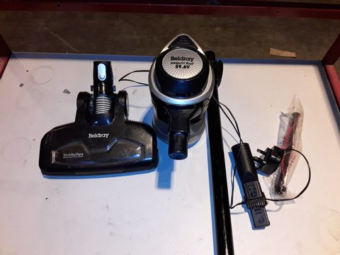 Lot 3193 BELDRAY AIRGILITY + CORDLESS VACUUM CLEANER